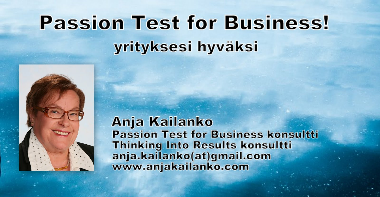 Passion Test for Business