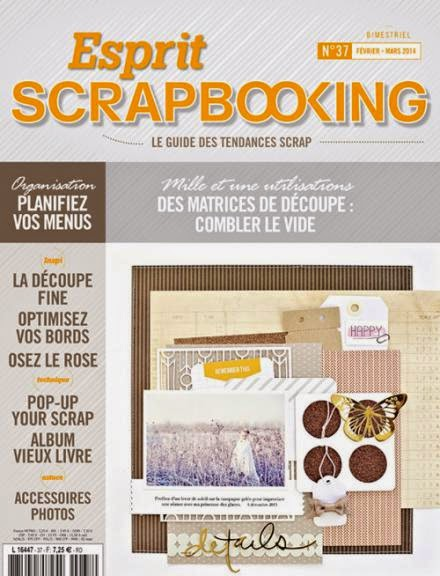 Publication Esprit Scrapbooking n°37