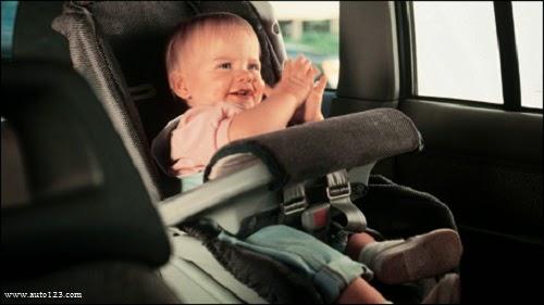 Drôle Image bébé en voiture