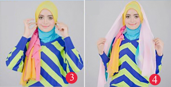 Fashionholic Braids Shawl Tutorial Hijab Remaja Terbaru Untuk Lebaran