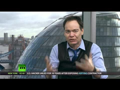 Max Keiser pushing gold and silver for the economic collapse