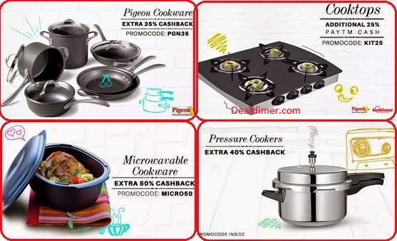 Kitchenware Extra upto 50% Cashback