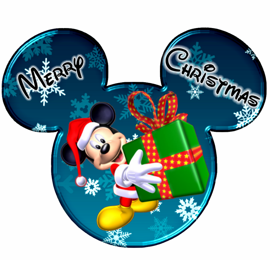 Imprimibles De Disney Para Navidad Con Mickey Y Minnie