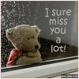 Gambar Tampilan di Bbm Blackberry_i miss you a lot