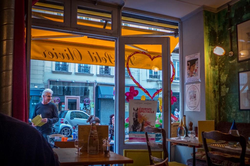 Paris France restaurant Le Petit Olivier