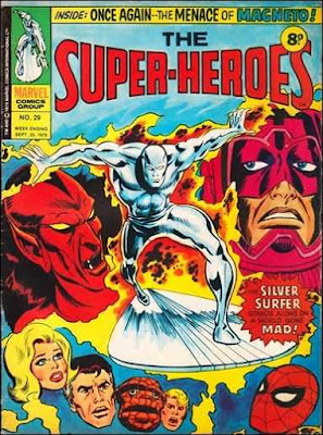Marvel UK, The Super-Heroes #29, the Silver Surfer