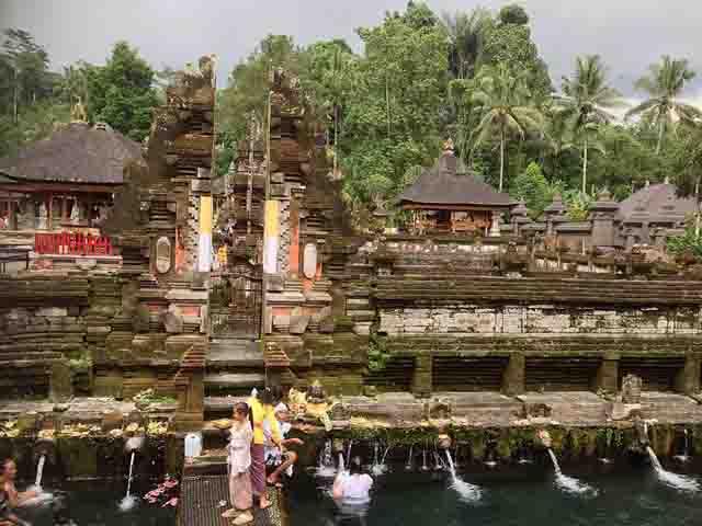 Tirta Empul Temple at Tampaksiring