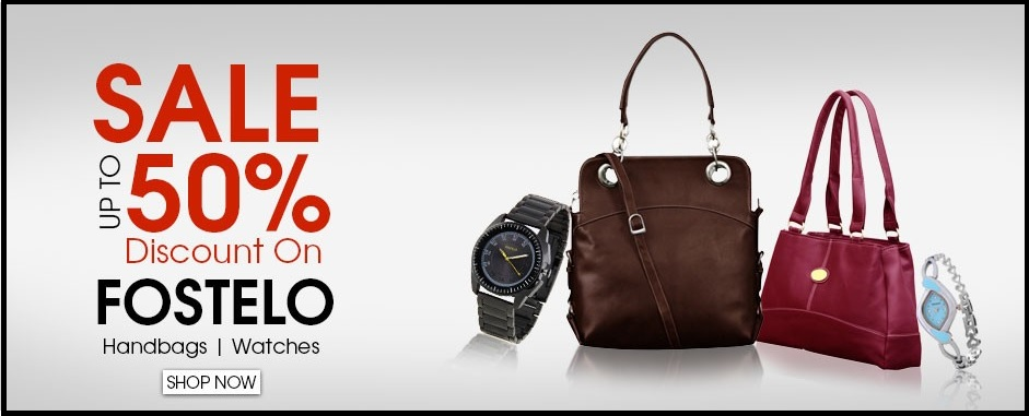 Fostelo Women's Handbags Starting From Rs.499 Only- Min. 33% Discount.