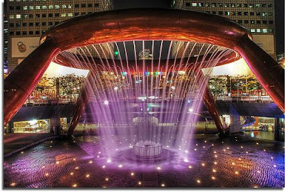Fountain of Wealth Suntec City Singapura