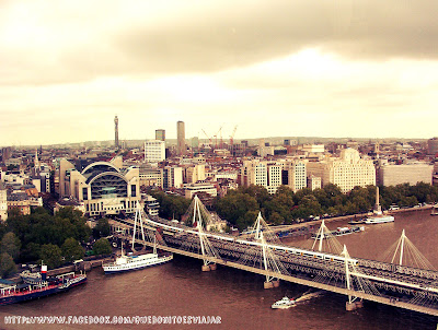 Hungford Brigde desde London Eye