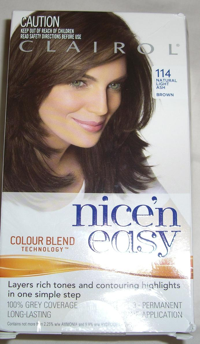 Blushed Wombat Clairol Nicen Easy Colour Blend Hair Dye 114