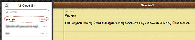 iphone notes