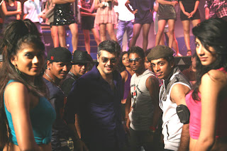 Ajith in a song scene from Makantha