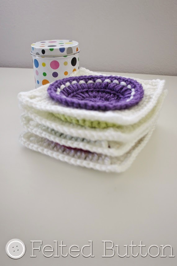 How to Wet Block your Crochet Motifs