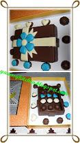 Contoh kotak coklat untuk hantaran