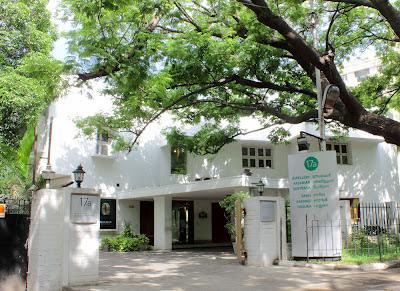 Sarangi entrance featured on www.thekeybunch.com
