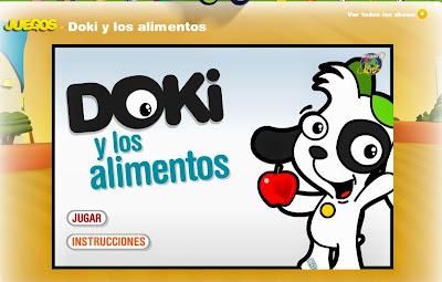 http://www.tudiscoverykids.com/juegos/doki-y-los-alimentos/