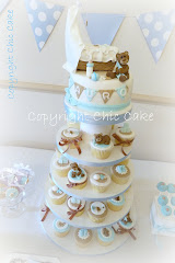 Cupcake stand - Torre di cupcake BATTESIMO