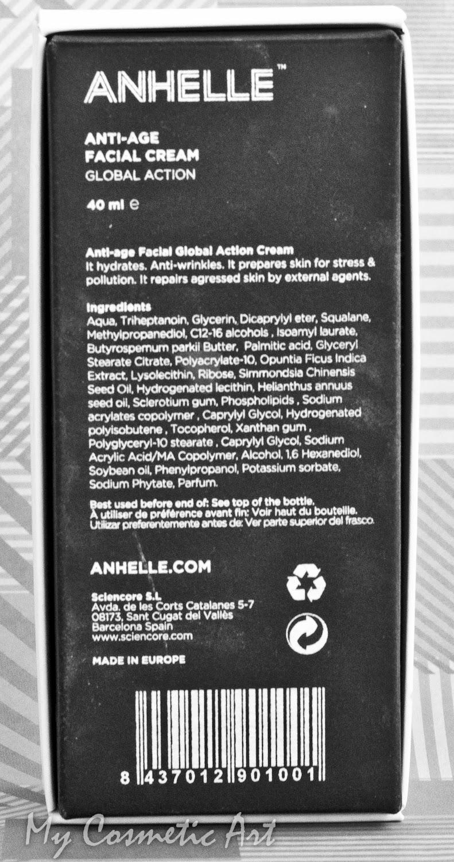 Crema facial antiedad de Anhelle