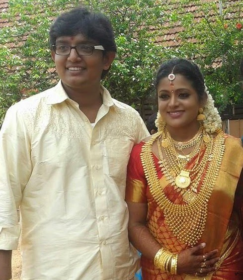 Actress Veena Nair and Swathy Suresh Bhymi  marriage