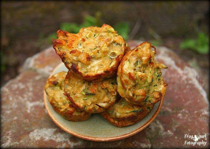 Gina's Favorites: Mini Zucchini Cheese Bites