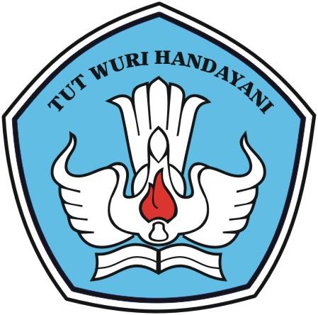 Logo TUT WURI HANDAYANI Corel Draw