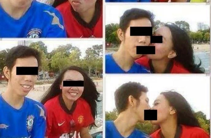 Memalukan Inilah 2 Gambar Pasangan Bajet Comel Yang Mengundang Muntah