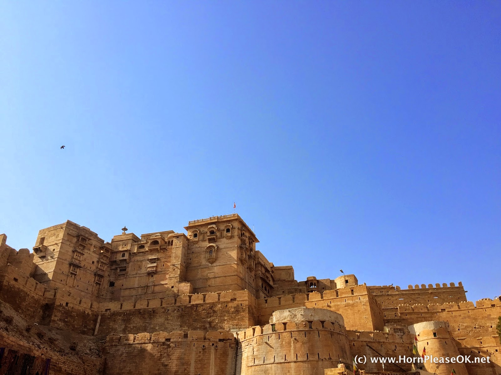 The Golden Fort at Jaisalmer