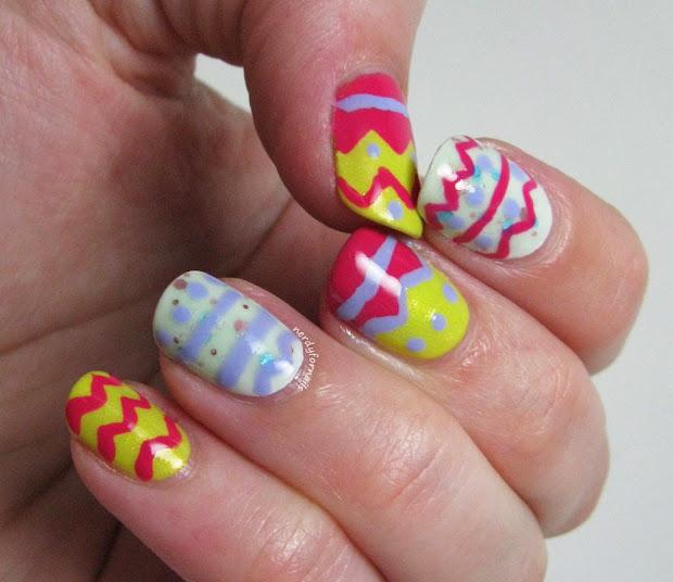 nerdy nails easter egg