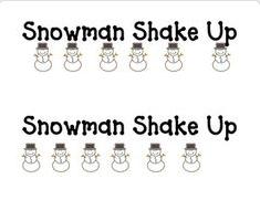 https://www.teacherspayteachers.com/Product/Shake-Up-Snowman-1000701