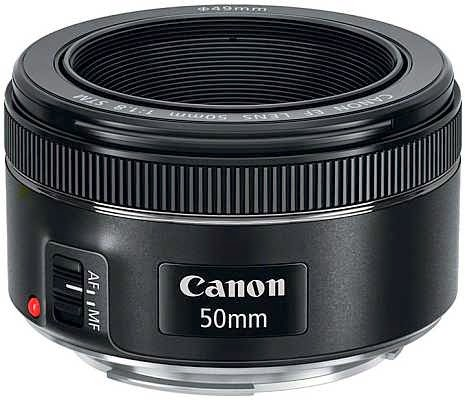 عدسة جديدة من كانون: Canon 50mm f/1.8 STM