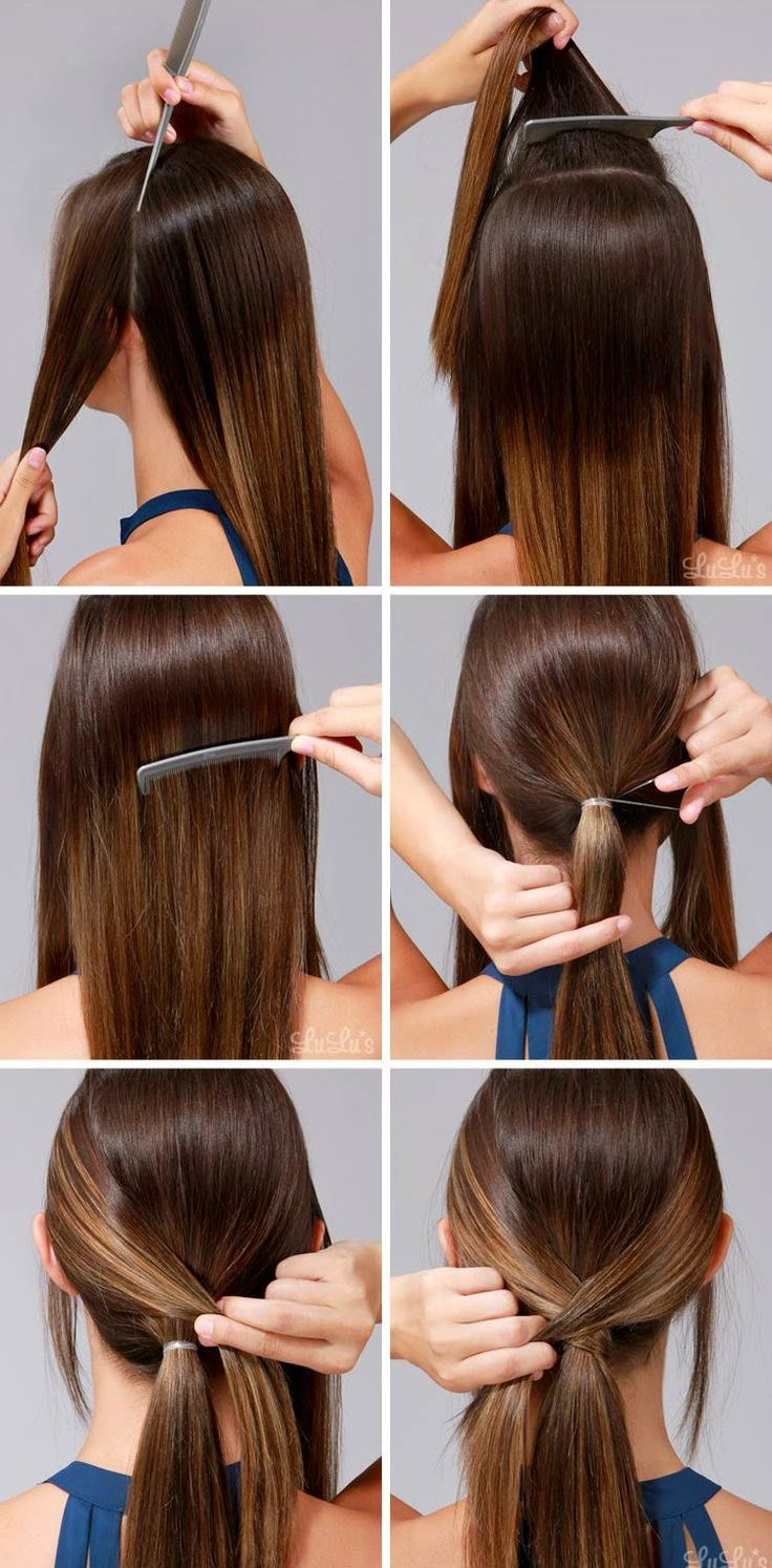 How-To: Runway-Ready Low Ponytail