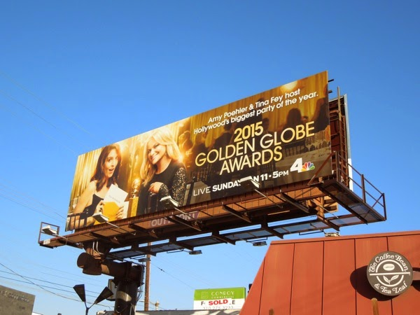 2015 Golden Globe Awards billboard