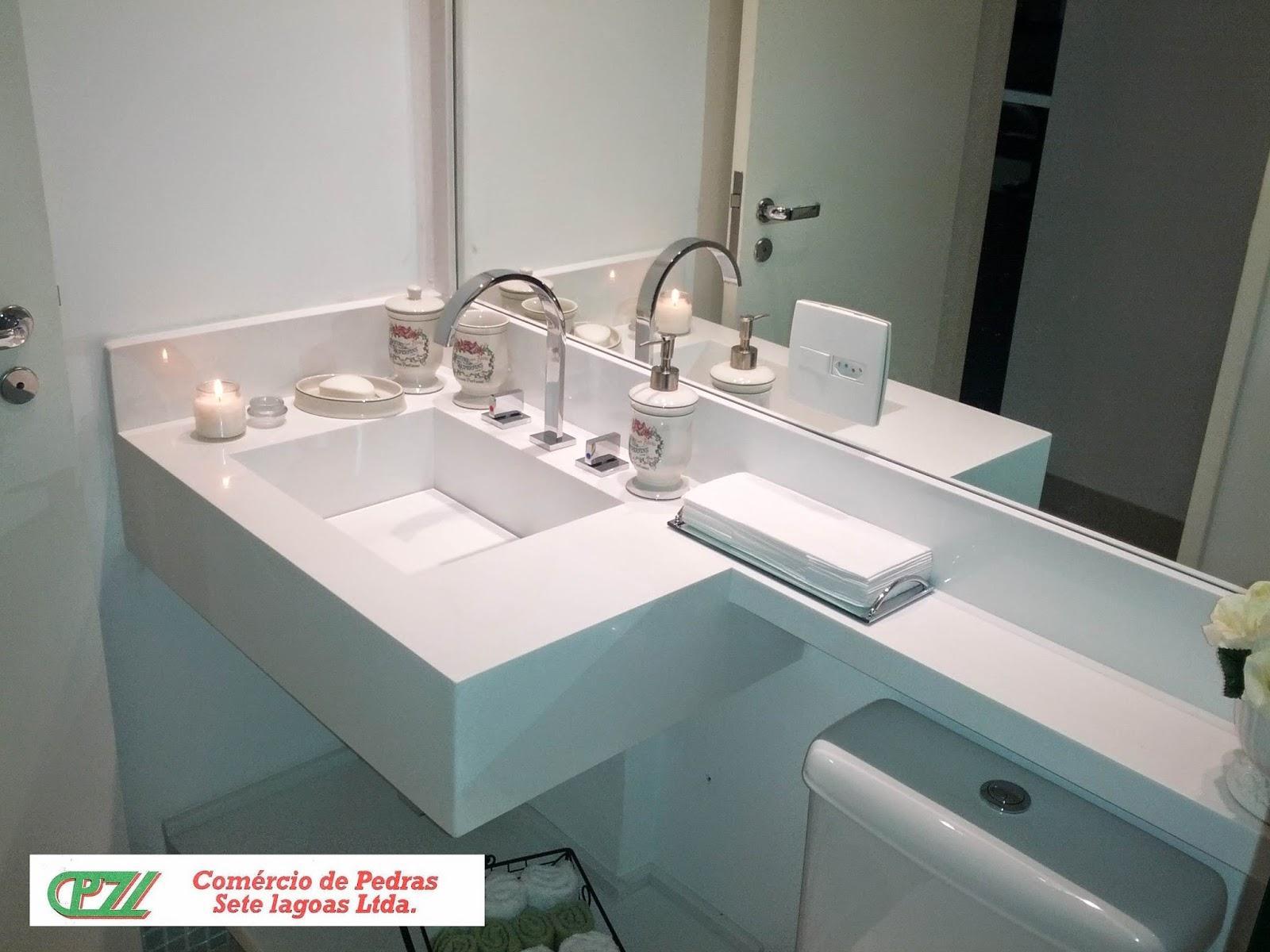 BANHEIROS -> Pia De Banheiro Esculpida