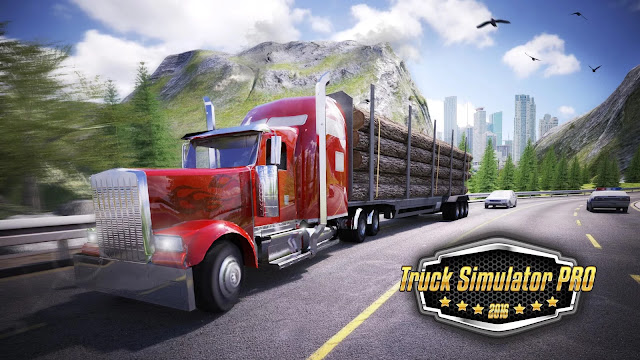 Download Truck Simulator PRO 2016 v1.5 Paid Apk+Data For Android