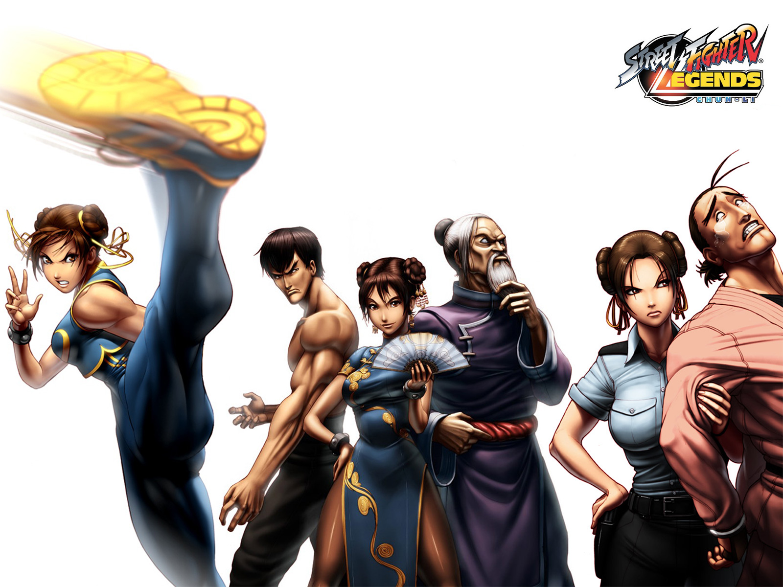 Street Fighter HD & Widescreen Wallpaper 0.540714273737367