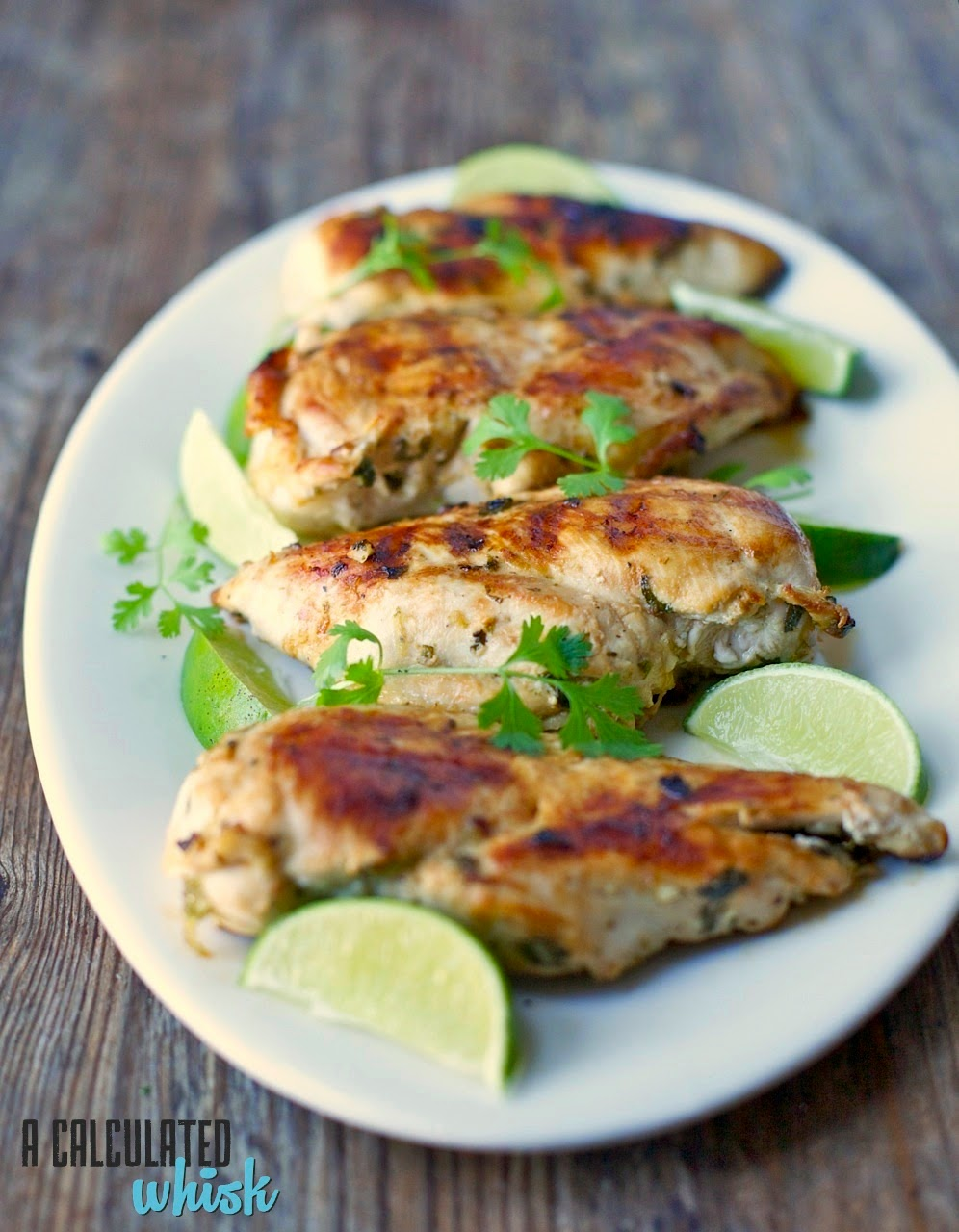 Cilantro Lime Chicken | acalculatedwhisk.com