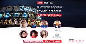 """30 Novembre 2020 - """"Città per la vita, città contro la pena di morte"""""""