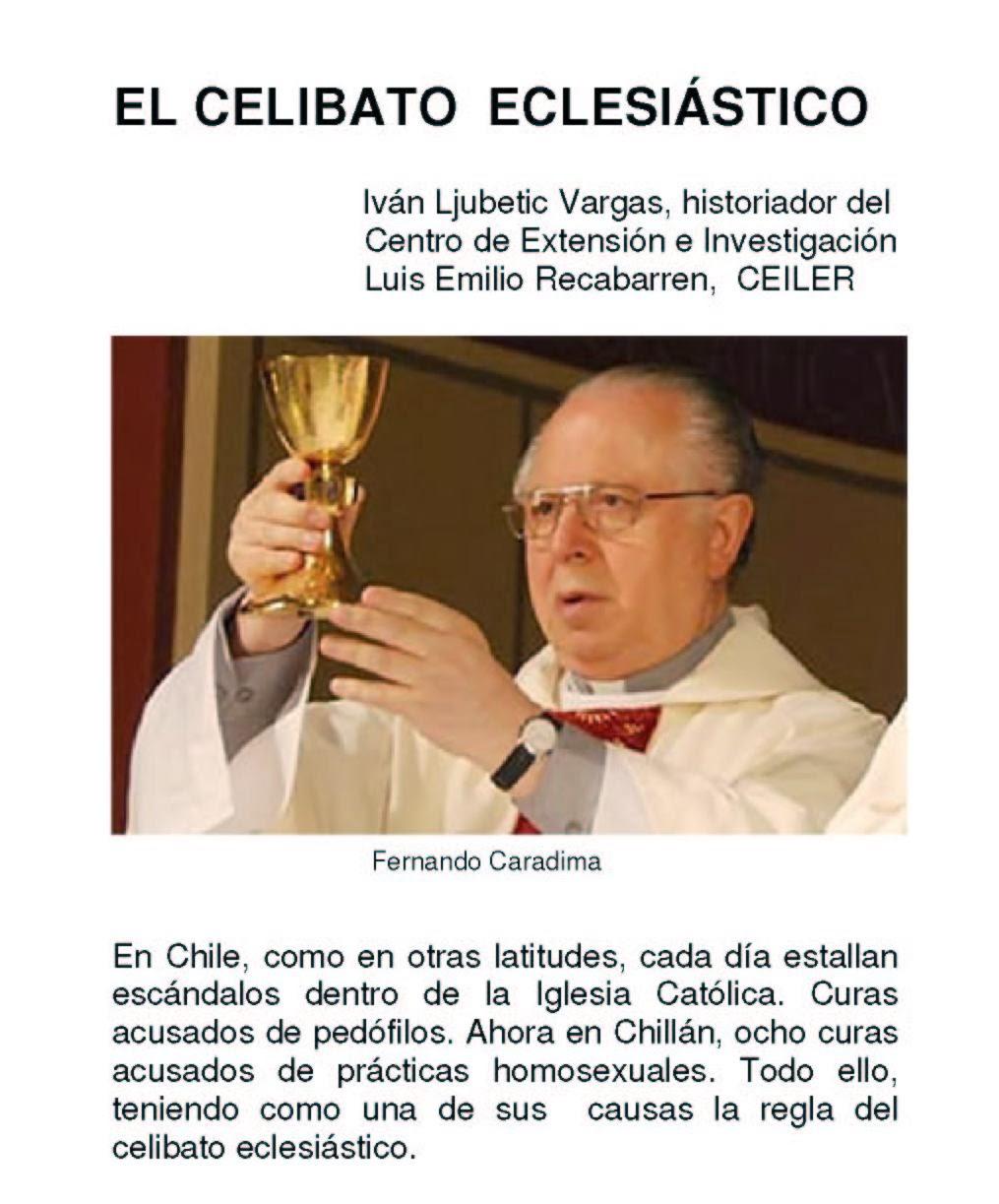 EL CELIBATO  ECLESIÁSTICO