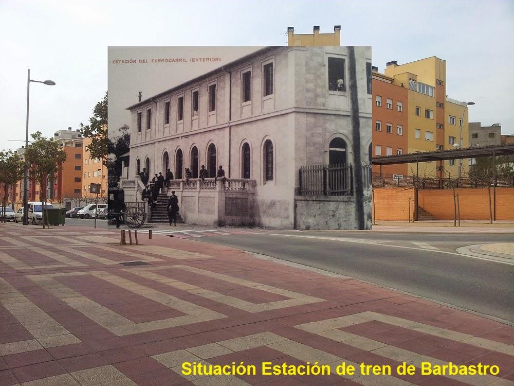 Asociaci n altoaragonesa de amigos del ferrocarril el - Contactos en barbastro ...