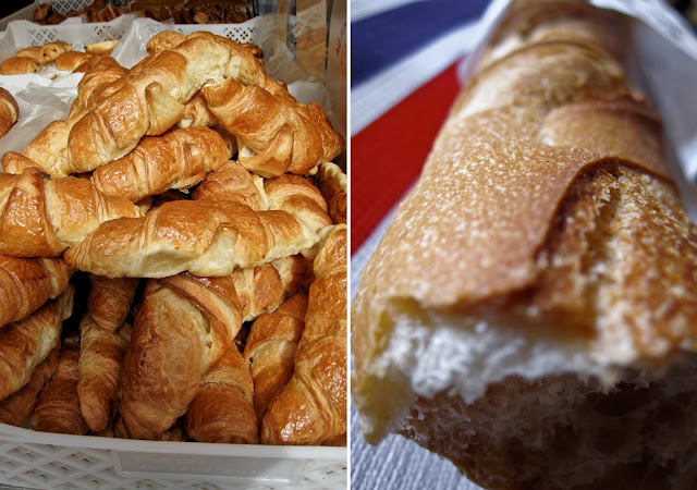 baguette, croissants, France