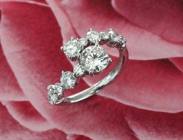 それぞれのダイヤモンドが賑やかにリメイク(リ・スタイル)された。