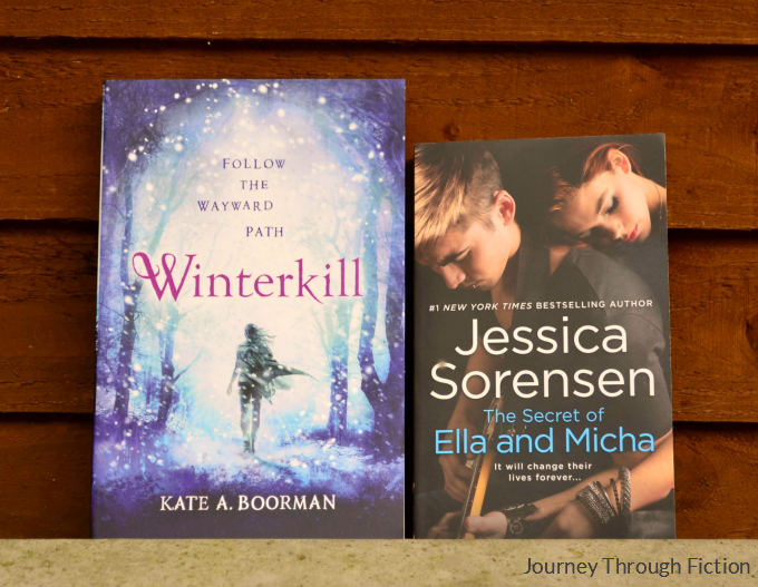 Winterkill by Kate A. Boorman The Secret of Ella and Micha by Jessica Sorensen Journey Through Fiction weekly wrap up