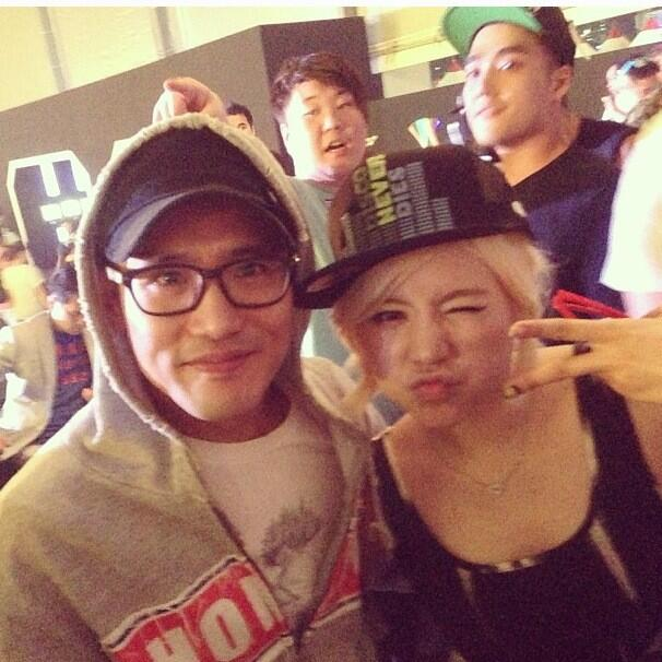 [Picture] 130520 Sunny with Roy Kong (Kong In Bae)