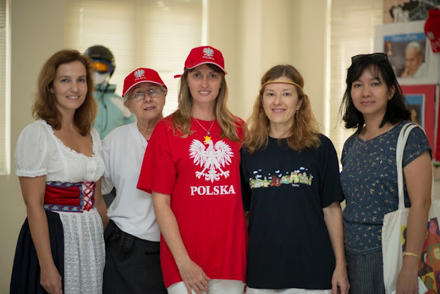 Poland, Czech Republic and Lithuania room at International Day BIS 2013
