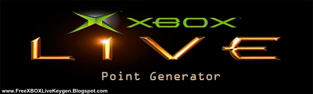 XBOX Live Point Generator