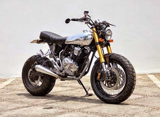Modifikasi Yamaha Scorpio 225 The Luminous
