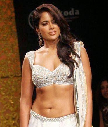 Sameera Reddy in fashion show