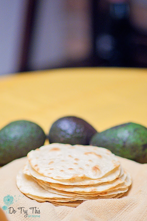 Flour tortillas from scratch: http://DoTryThisAtHome.net