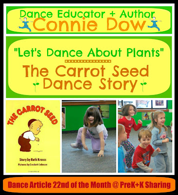 photo of: Let's Dance About Plants by Connie Dow at PreK+K Sharing